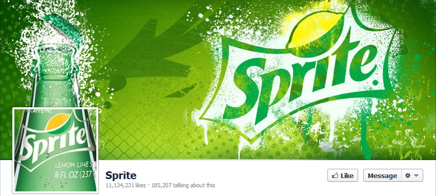 Facebook cover photo- Sprite